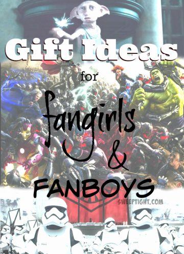Gift Guide for fangirls and fanboys