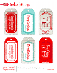 Spread Cheer Gift tags #SpreadCheer
