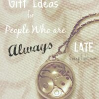 Gifts for people who are always late