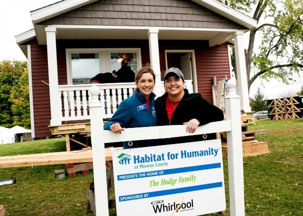 Whirlpool Every Day, Care - Helping Habitat for Humanity Help Others