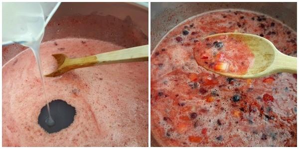 Sparkling Holiday Strawberry Jam Recipe with Printables