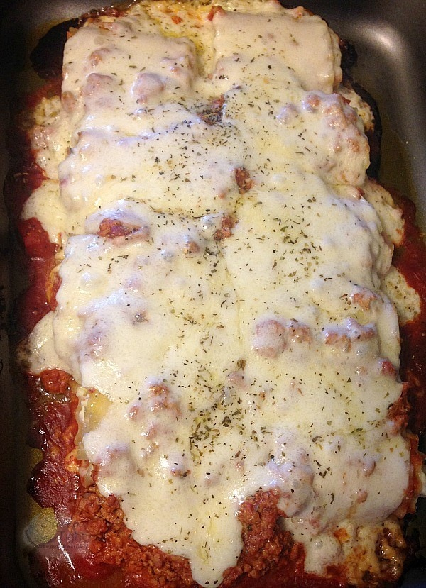 Lasagna Rolls with Bertolli Riserva