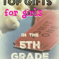 Movie tickets are an awesome gift for 5th grade girls