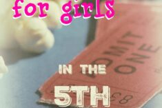 Gift Ideas for 5th Grade Girls