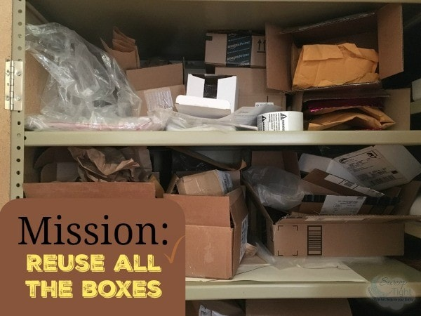 Reuse all the boxes