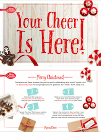 #SpreadCheer Instructions