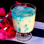 Blue Mixed Drink Recipe - Blue Snowball