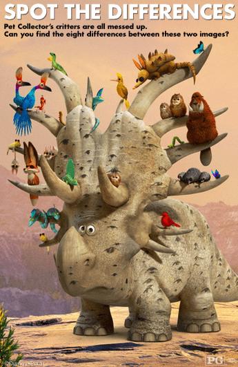 The Good Dinosaur movie printables