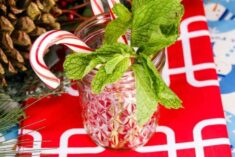 Ginger Beer Cocktails – Peppermint Ginger Sparkle Recipe