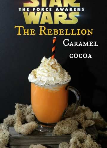 The Force Awakens is Awake – Rebellion Hot Chocolate Recipe