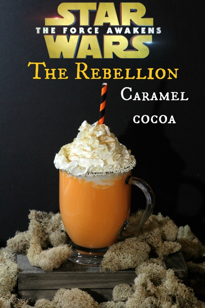 Rebellion Caramel Cocoa - White Hot Chocolate Recipe