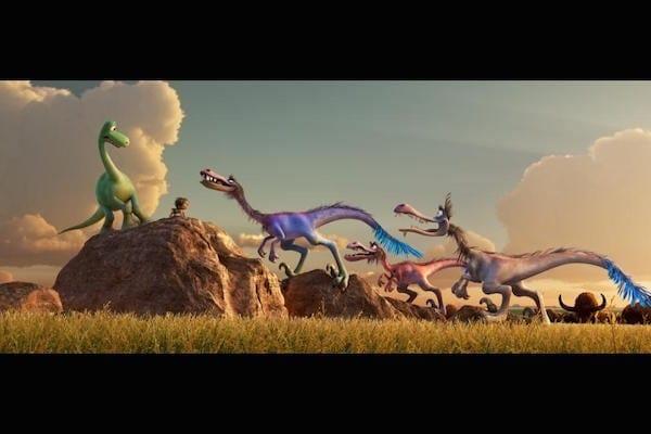 The Good Dinosaur - Our family reaction