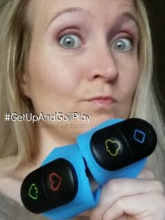 These game controllers for working out will make you want to work out all the time! Time will fly by as the calories burn. #GetUpAndGojiPlay #GetEmOfftheCouch #ad Click for coupon code