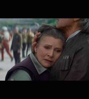 My Reaction – Star Wars Episode 7 The Force Awakens Review