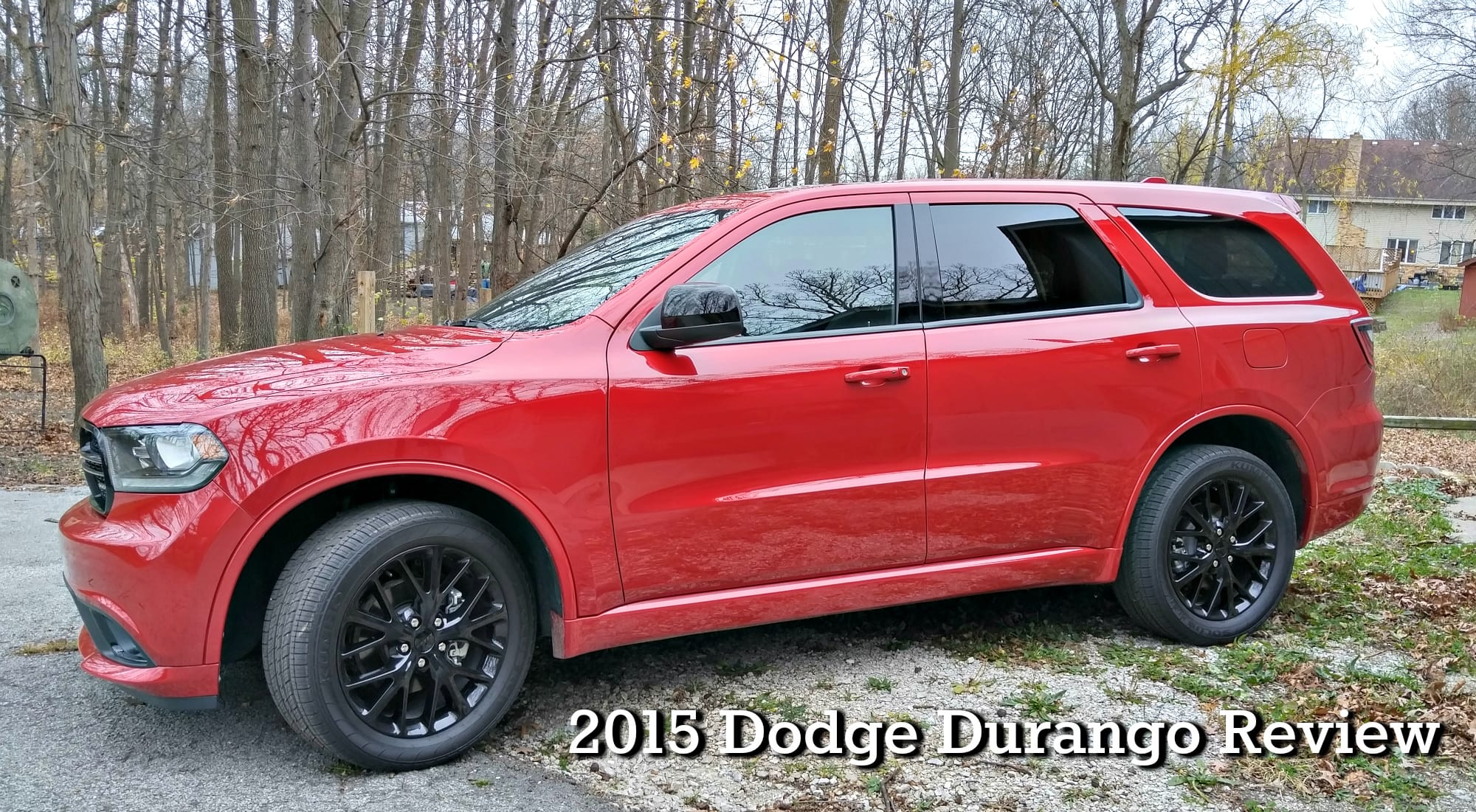 2015 Dodge Durango Review