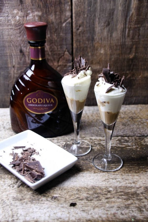 Chocolate Love Cheesecake Mixed Drink Recipe
