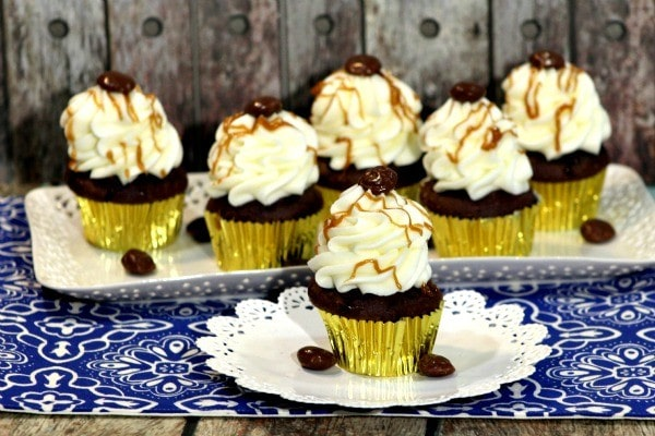 Chocolate Cupcakes with Salted Caramel Frosting Recipe