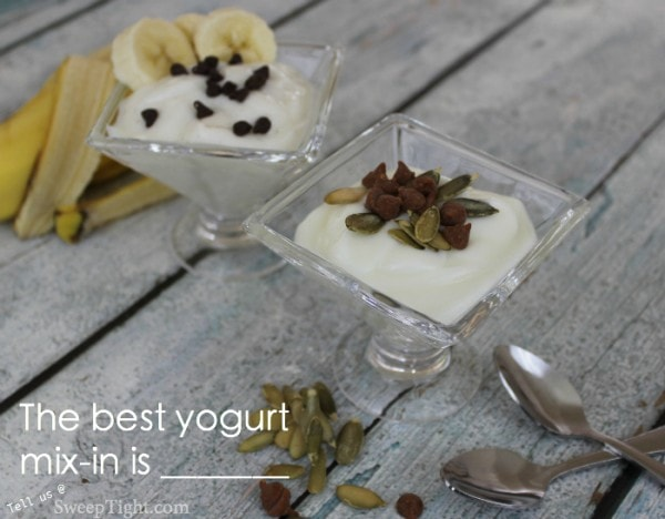 Best yogurt mix-ins