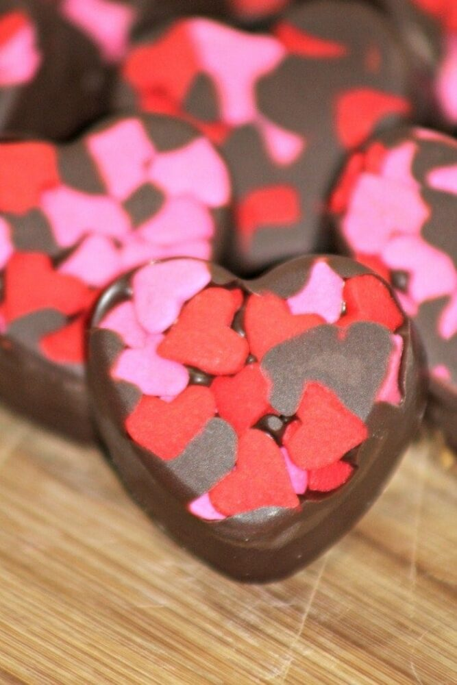 Camouflage Almond Butter Truffles Recipe