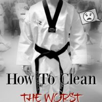 How to remove stains from clothes, uniform, gear, and even get rid of odor!