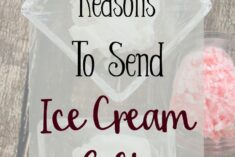 Reasons to send Ice Cream Gifts