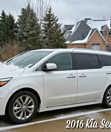 For the Ultimate in Family Luxury – 2016 Kia Sedona Review