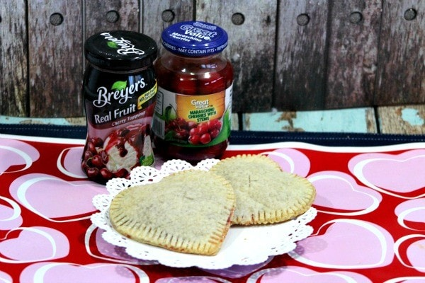 Mini Heart Pies Recipe with Cherry Filling