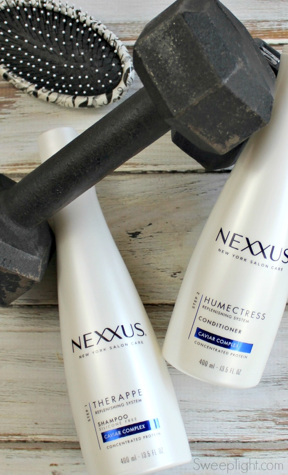 Like a workout for your hair... strength training and the best treatment for dry hair