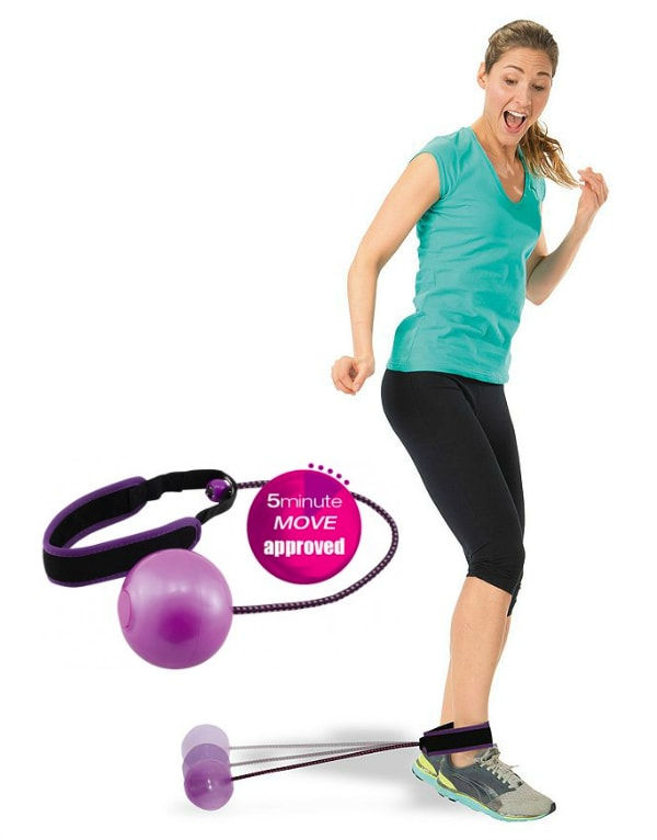 Set up a fitness station for easy workouts for home or office #funfitness