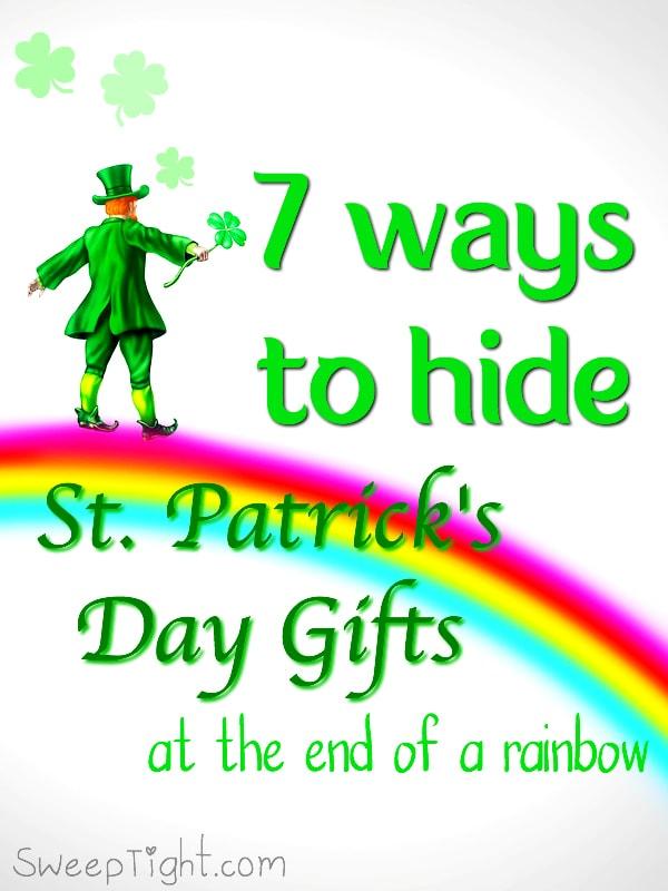 7 fun ways under $20 to hide St. Patrick's Day gifts under a rainbow