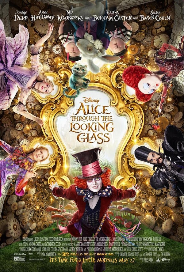 New Movie Poster for Disney's Alice Through the Looking Glass #DisneyAlice