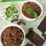 DIY Mint Chocolate Sugar Scrub Recipe