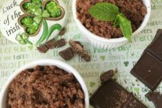 DIY Mint Chocolate Sugar Scrub Recipe