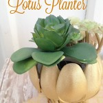 Plastic Spoon Craft – Easy Upcycled Lotus Planter