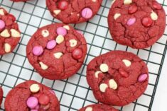 Easy Red Velvet Cookies Recipe - Valentine's Day Cookies