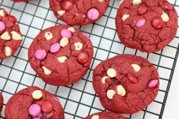Easy Red Velvet Cookies Recipe – Valentine's Day Cookies