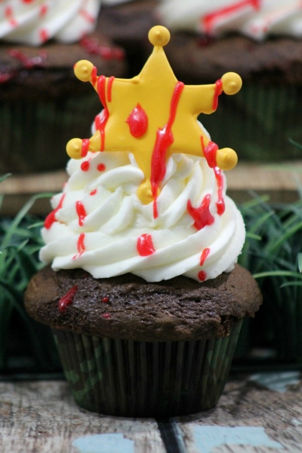 The Walking Dead Inspired Cupcake Recipe