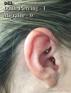 I tried a daith piercing for migraines. Check out my story!
