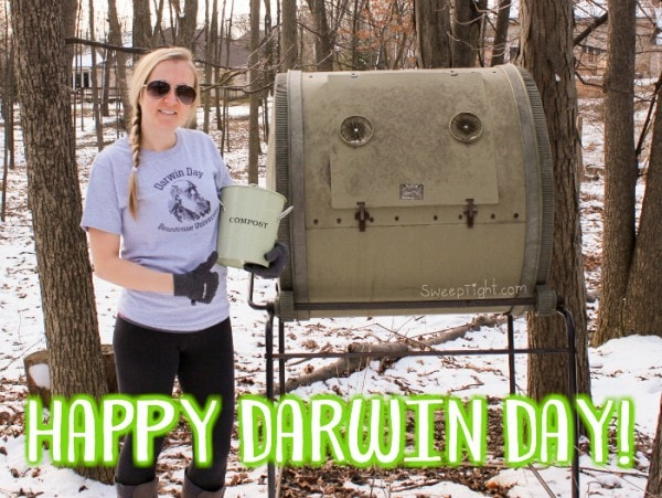 Happy Darwin Day! - How to compost at home and why EVERYONE should
