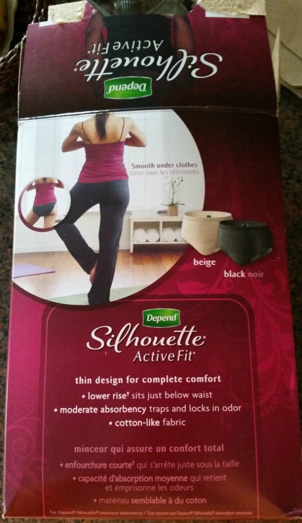 Depend Silhouette Active Fit Briefs get the star of approval. Bladder leakage in women is more common than you think! Don't be ashamed anymore. #Underwareness #ad