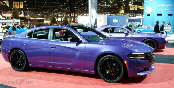 Dodge Purple 2016 Chicago Auto Show Recap