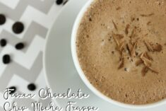 Frozen Chocolate Chip Mocha Frappe Recipe