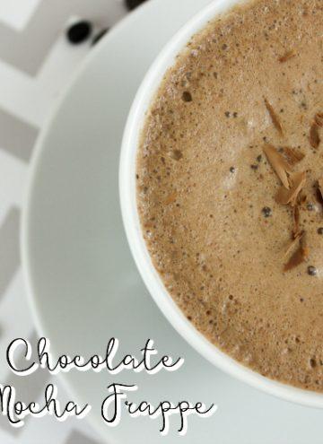 Frozen Chocolate Chip Mocha Frappe Recipe
