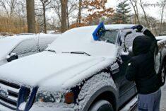 Snow Joe Telescoping Snow Broom Ice Scraper review