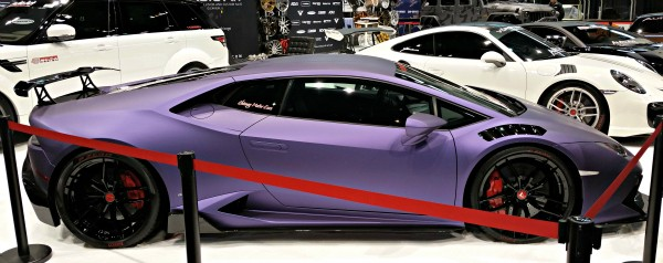 Awesome matte purple 2016 Chicago Auto Show Recap