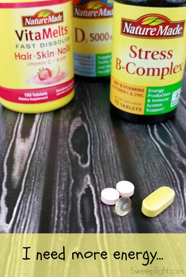 Best vitamins for energy all day #NatureMade #IC #ad