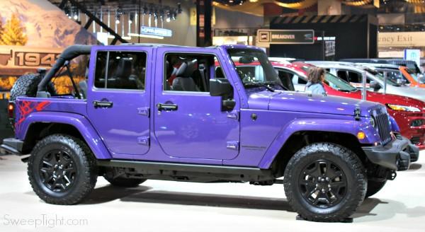 Purple Jeep 2016 Chicago Auto Show Recap