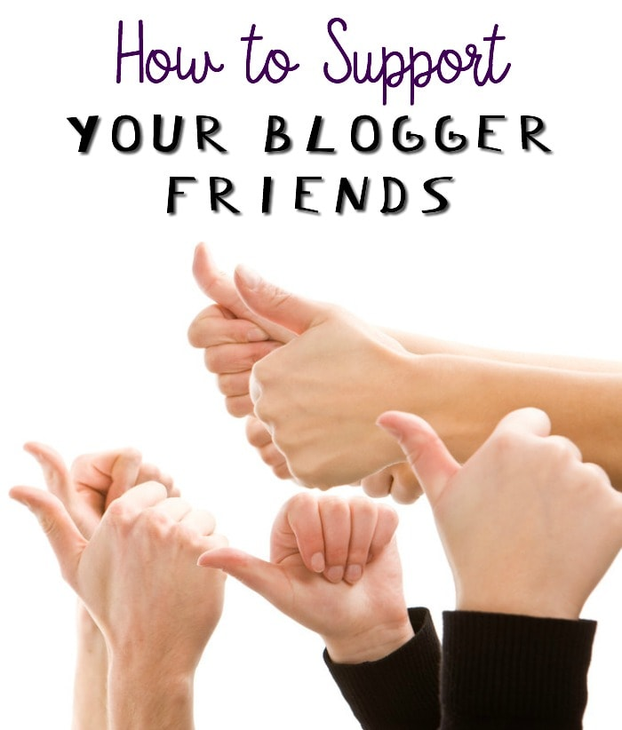 How to Support a Blog and Help your Blogger Friends