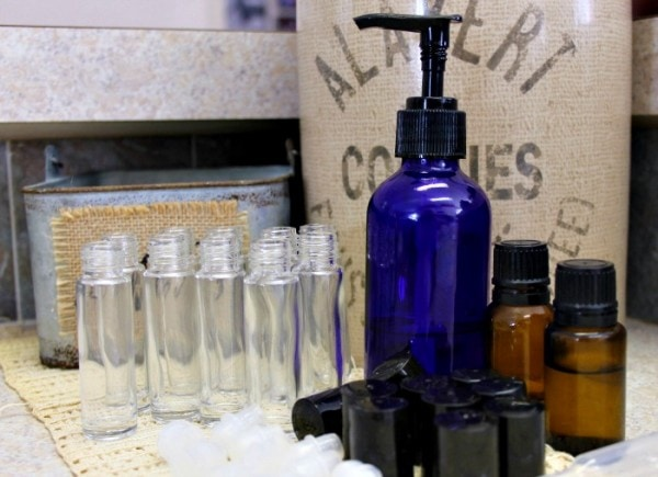 DIY Essential Oil Roller Bottles - 10 Remedy Blends