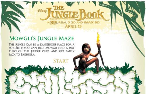 Free Disney Activity sheets The Jungle Book